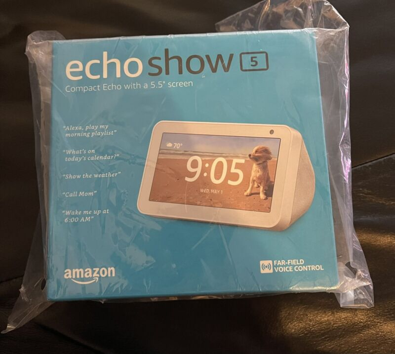AMAZON ECHO SHOW 5 BRAND NEW IN BOX!!!