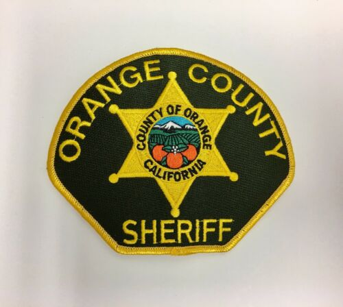 Orange County CA California Sheriffs Department Police Patch