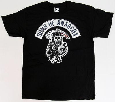 Sons Of Anarchy Soa T Shirt Classic Samcro Reaper Logo Tee M L Xl Black New