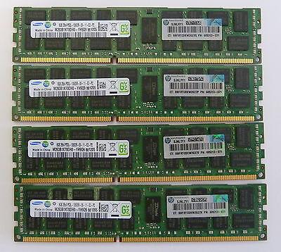 32GB (4x8GB) 605313-071 PC3L-10600R ECC DDR3 1333MHz  HP DELL IBM Lenovo
