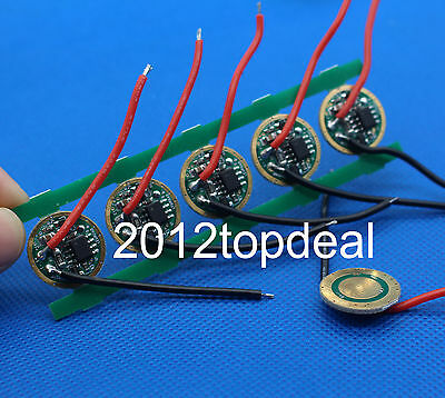 1pcs 5 Modes Dc 3.7v 16mm Led Driver For Cree P7xml-t5xml-t6 Led Light