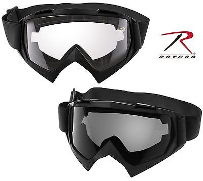 Over-the-glasses Tactical Goggles - Rothco Adjustable Otg Eyewear Protection