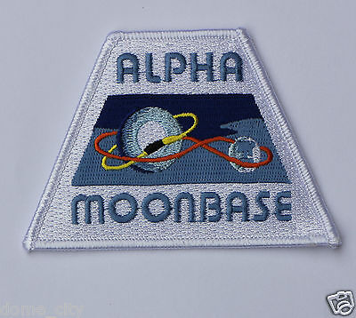 Space 1999 Alpha Moonbase Patch NEW! / Gerry Anderson Eagle 1 one Hawk