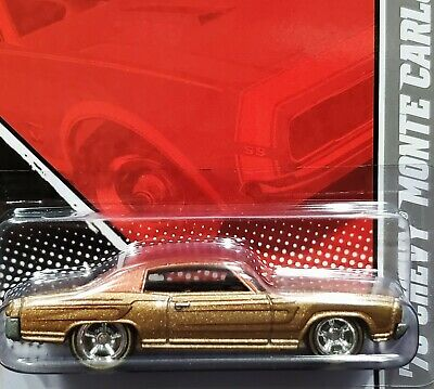 Hot Wheels 70 1970 Chevy Monte Carlo Garage Detailed Car Chevrolet 08/22 w/RRs G