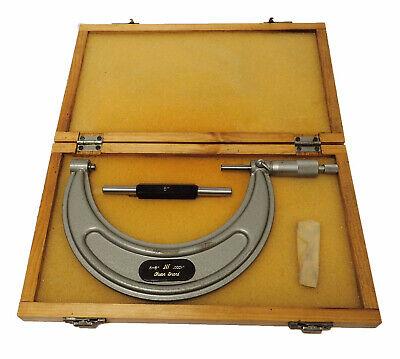 Chuan Brand Phase Ii Outside Micrometer 5-6 Inch Range W 5 In Calibrator Rod