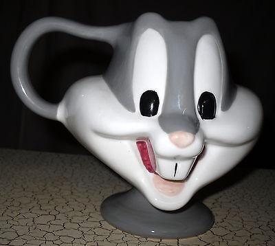 Porcelain Bugs Bunny Cup Mug or Planter Looney Tunes Warner Bros