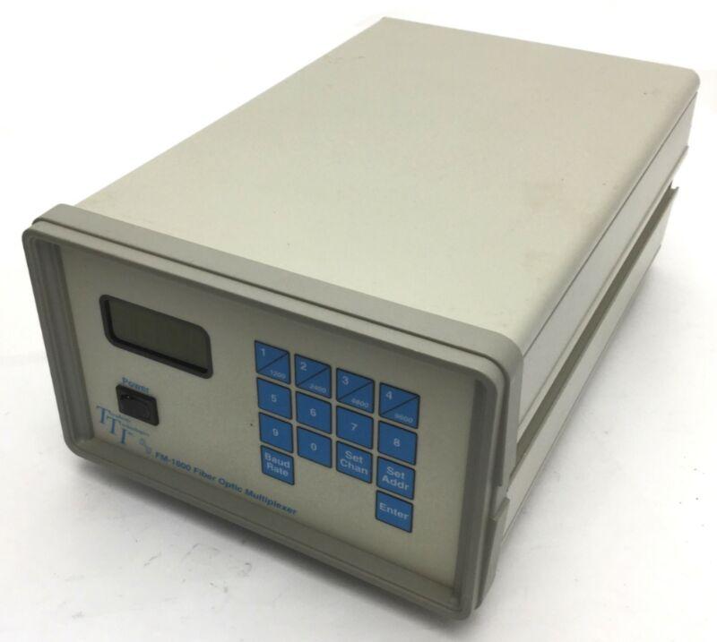 Terahertz Technologies Inc FM-1600 Fiber Optic Multiplexer Multiplexer 90-250VAC