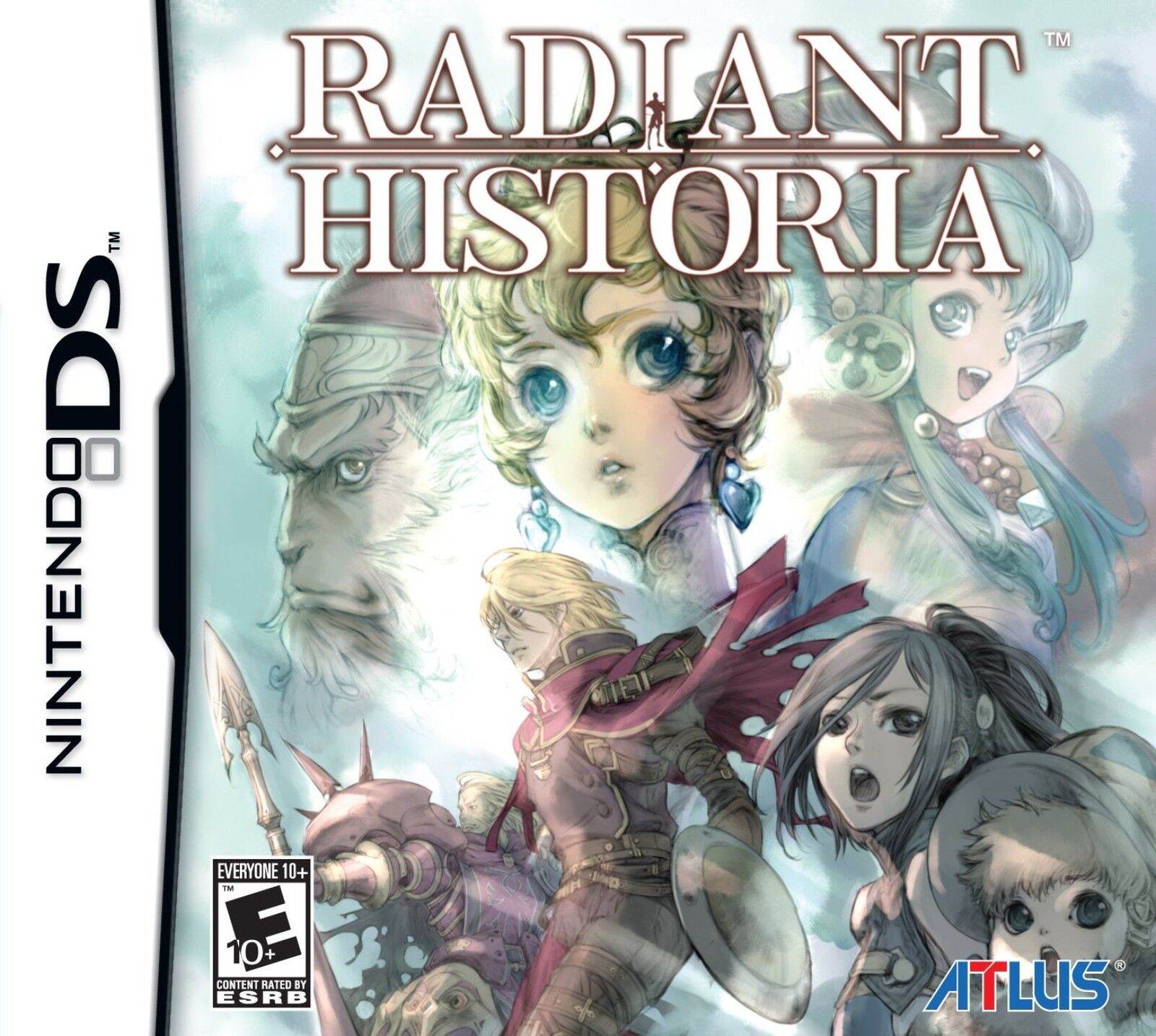 $22.95 - Radiant Historia Nintendo DS Game Brand New and Sealed