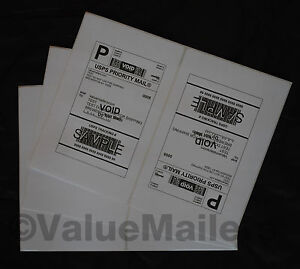 ~ Rounded Corners ~ Labels 8.5x5.5 ( 200 )  Premium Shipping Labels Paypal Ebay
