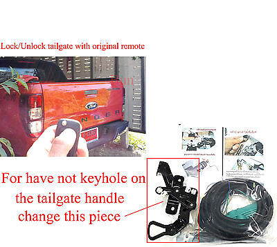 Central Locking Tailgate Lock unlock by remote For FORD PX RANGER T6 12-18 Nokey