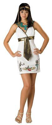 Cleopatra Egyptian Cleo Cutie Teen Costume Queen Nile Size - Teen Egyptian Costume