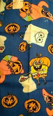 Sponge Bob Halloween (SPONGE BOB, PATRICK, GHOSTS HALLOWEEN  COTTON FABRIC -1/3)