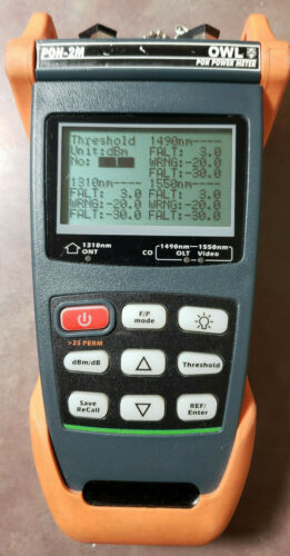 OWL Optical Wavelength Laboratories PON-2M Fiber Optic Meter