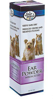 Four Paws Dog & Cat Ear Powder, 24-g   (Free Shipping) Four Paws Ear Powder