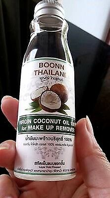 100 ml. Virgin Coconut Oil 100% Layered Cold Pressed MakeUp Remover Antioxidant