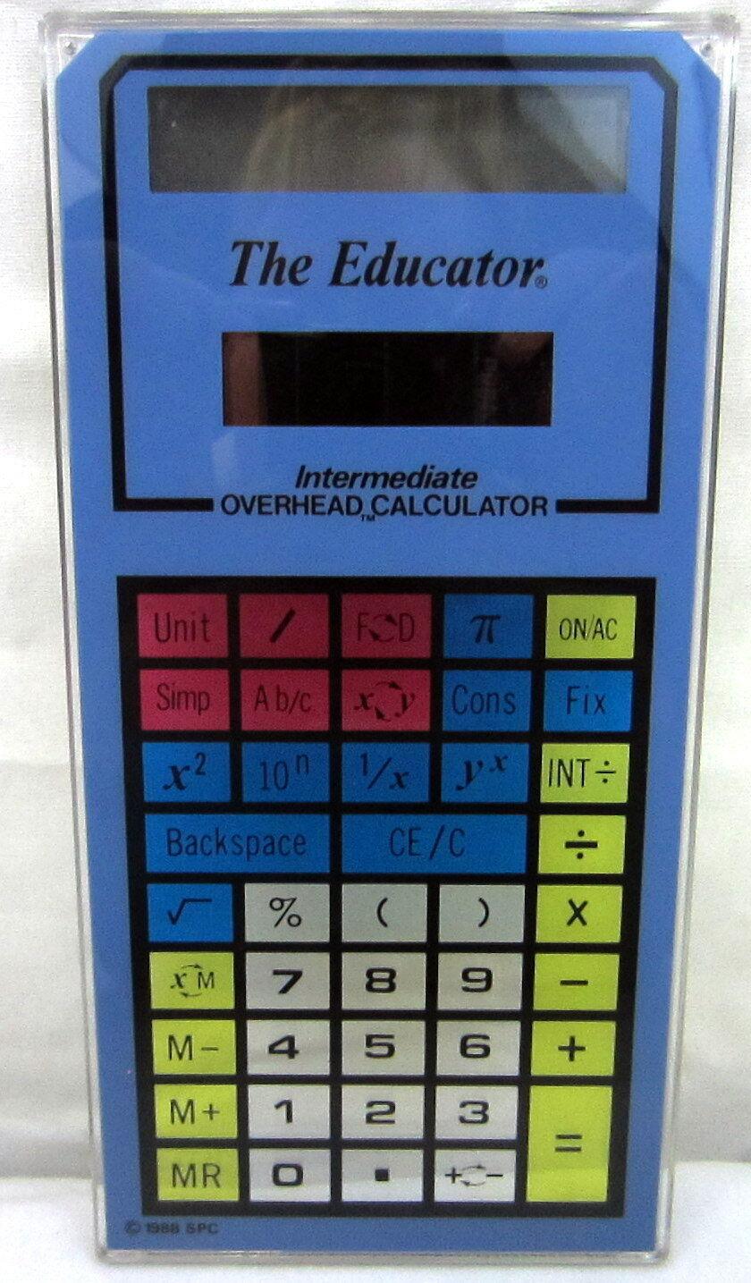 Stokes Publishing Co.The Educator Intermediate Overhead Calculator No. 204