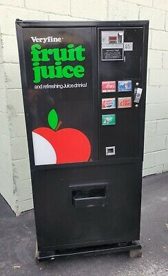 Dixie Narco 180 Small Soda Vending Machine 5 Select Single Price