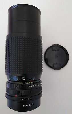 Sony NEX E mount adapted 80-205mm Zoom Lens, A5000 A6000 A650 etc, Exc condition