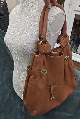 Marc by Marc Jacobs Tan Brown Leather Hobo Bag
