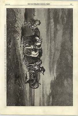 1868 Loading Sand Pas De Calais Threatening Weather R Beavis