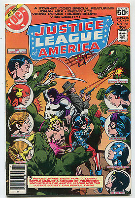 Ace Justice League (Justice League Of America #160 VF/NM  Jonah Hex Enemy Ace    DC Comics)