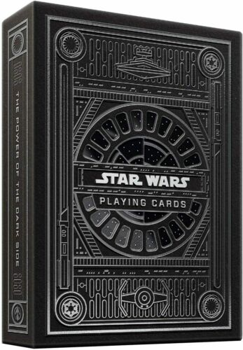 Theory11 Star Wars Playing Cards Special Edition Single Deck Poker New Black
