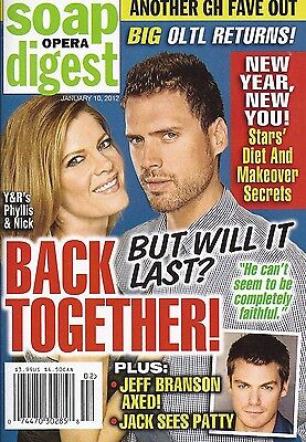 Soap Opera Digest Magazine January 10 2012 Young   The Restless Arianne Zucker