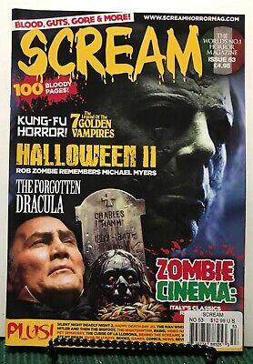 Scream Halloween Forgotten Dracula Kung Fu Horror #53 UK FREE SHIPPING JB](Kung Fu Halloween)