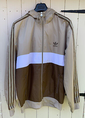 Adidas Vintage Trefoil 2007 OG Classic Windbreaker Size XL SPZL Great Condition