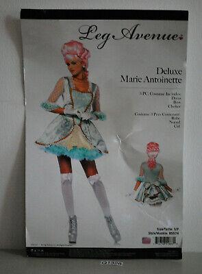 Deluxe Marie Antoinette Set Damen Kostüm, Größe: S - Marie Antoinette Kostüm