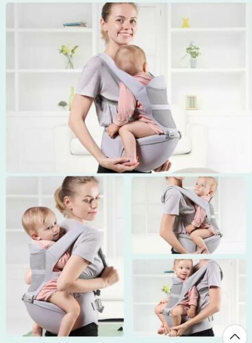 Baby Carrier Ergonomic Backpack with Hip Seat Front and Back High Multi carrying
