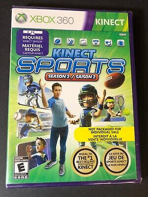 Kinect Sports Season Two [ Kinect Game ] (XBOX 360) NEW for sale  Shipping to Nigeria