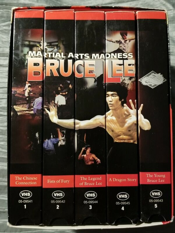 Bruce Lee - Martial Arts Madness - 5 Pack Collectors Series - VHS Tapes