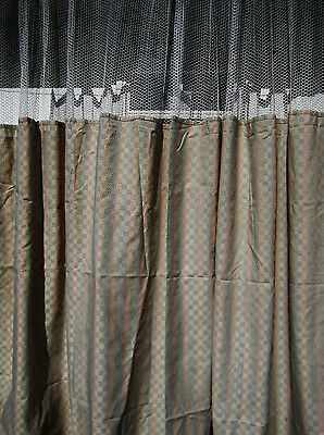 Lot Of 4 - Pattern D - Hospital Privacycubicle Curtains - Flame Retardant