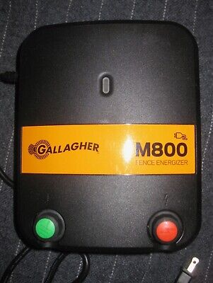Gallagher M800 Electric Fence Energizer 110 Volts 8 J Blackorange
