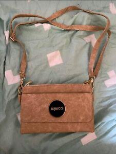 Mimco double zip side bag new