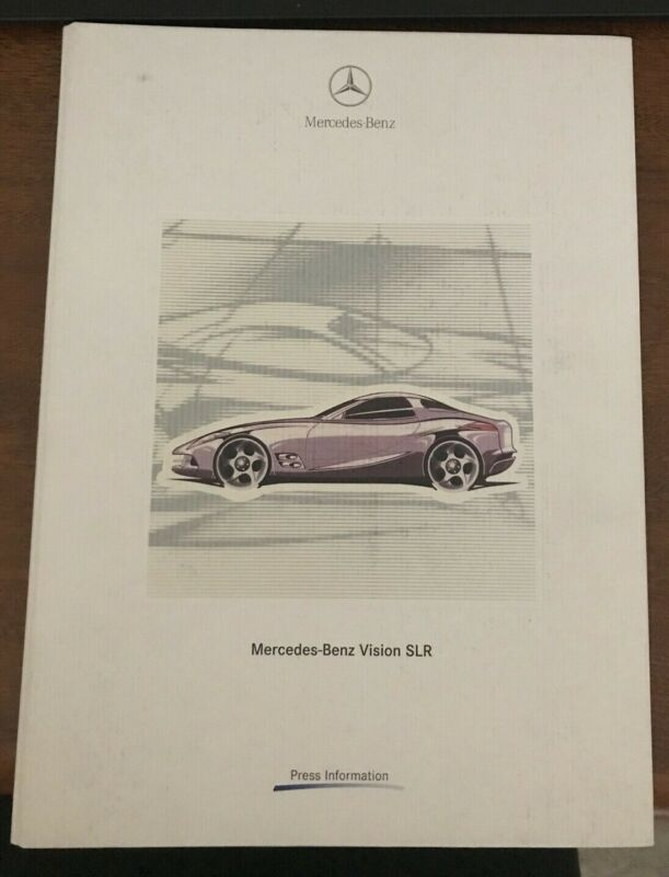 1999 Mercedes Benz Vision SLR Press Kit