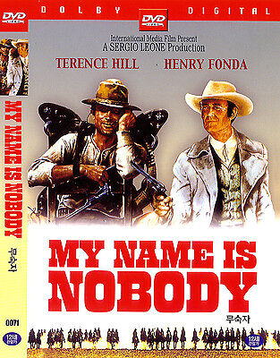 My Name Is Nobody  1973  New Sealed Dvd Terence Hill