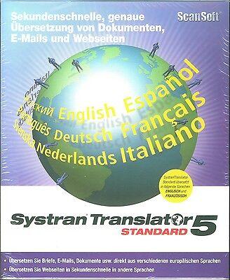 ScanSoft SYSTRAN Translator Standard 5