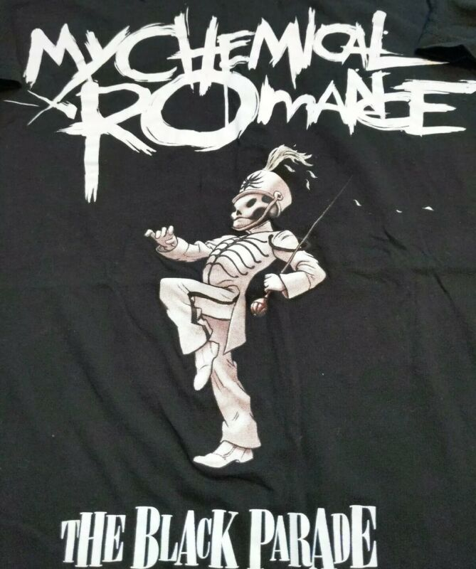 My Chemical Romance The Black Parade Short Sleeved unisex T-Shirt Size Small
