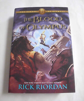 The Blood of Olympus by Rick Riordan (Hardcover Book)