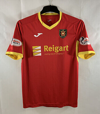 Albion Rovers Gracie 19 Matchworn Away Football Shirt 2018/19 (M) Joma C680 image