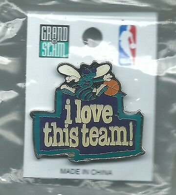 NBA Charlotte Hornets i love this team! Pin NEW Basketball OOP NIP