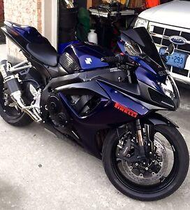 2007 Suzuki GSXR 750 motorcycle Bike