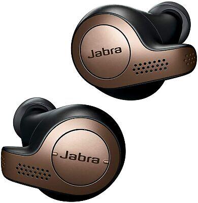 Jabra Elite 65t Bluetooth Headset, True Wireless Earbuds + Charging Case NEW