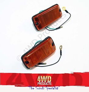Side/Guard Blinker SET - Suzuki Sierra Maruti Holden Drover (81-92)
