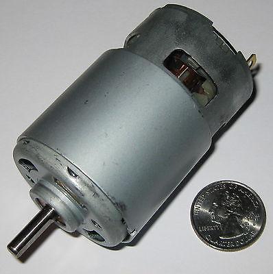 215 Watt Electric 12 Vdc Motor - 25000 Rpm - 770 Frame Size Robot High Speed Dc