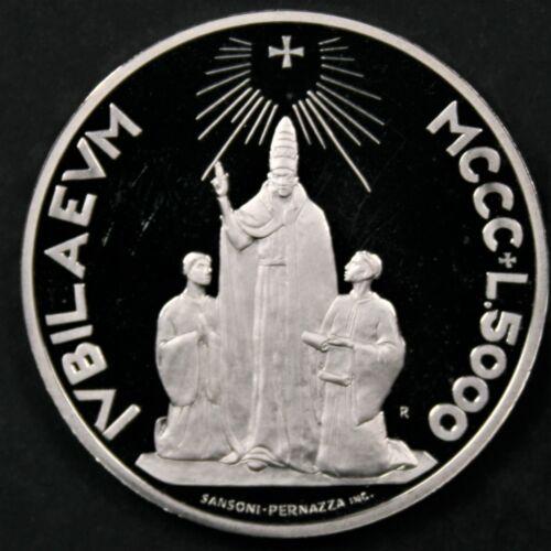 San Marino 2000 5000 Lire, Holy Year - Superb Gem Proof DCAM
