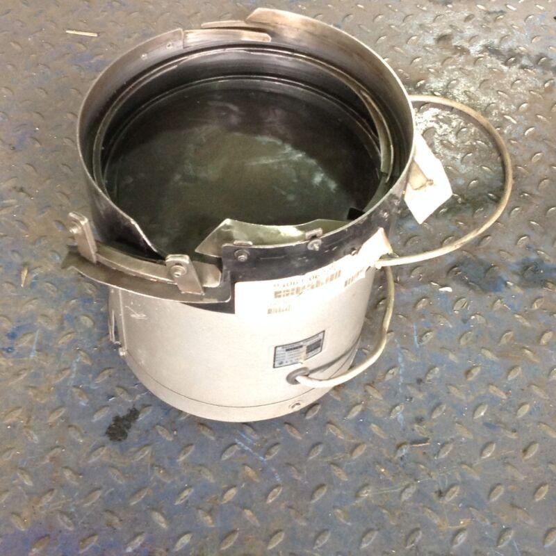 "S-k Ind. Co., Ltd 12"" Magnetic Vibrator Feeder Bowl Type Sk-b"