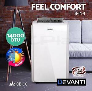 4 IN 1 Portable Air Conditioner Cooler Fan Dehumidifier Heater Adelaide CBD Adelaide City Preview